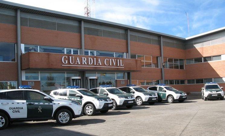 Comandancia de la Guardia Civil de Cáceres.