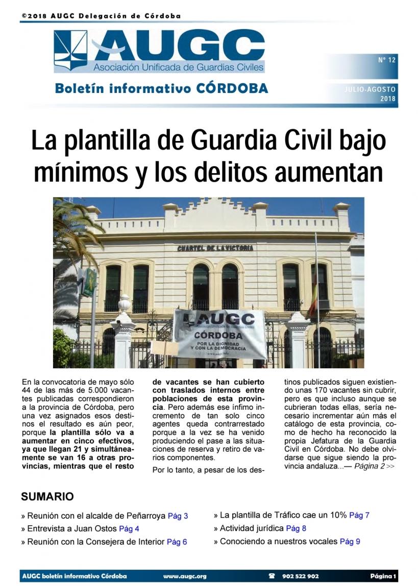 Boletín de AUGC Córdoba nº 12