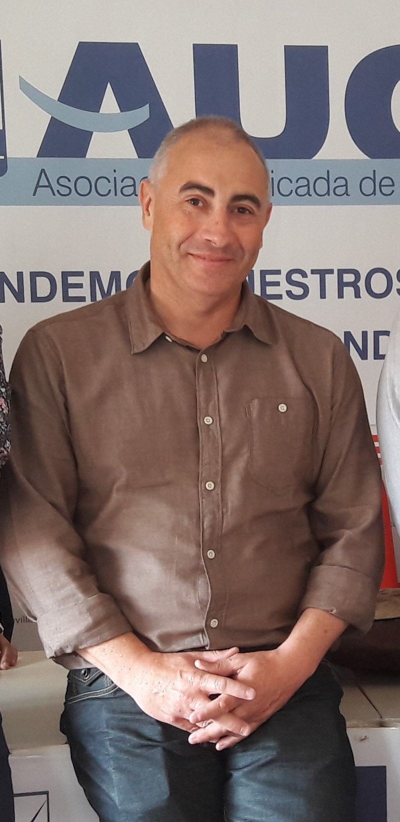 Francisco Cruz, secretario de institucionales y formación de AUGC en Córdoba