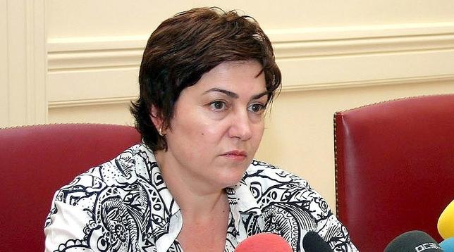 La Subdelegada del Gobierno en Valladolid, Helena Caballero.