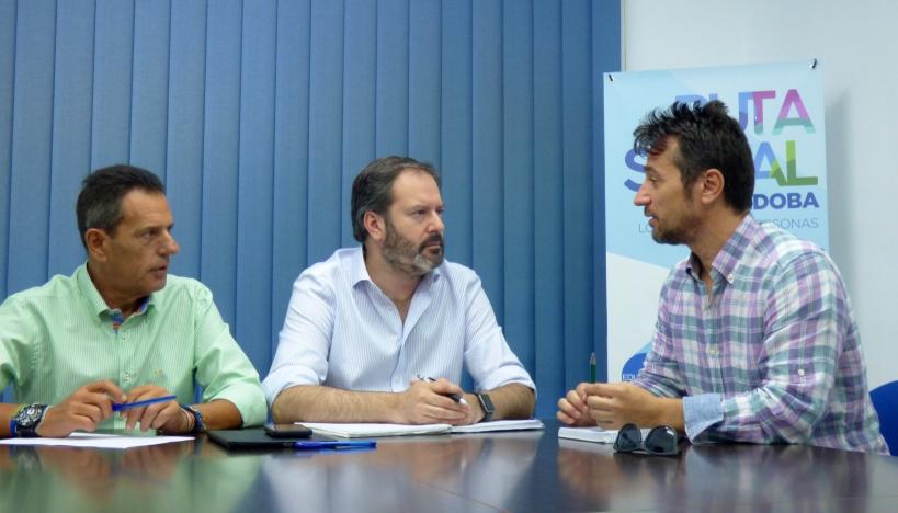 Reunión entre AUGC y PP en Córdoba