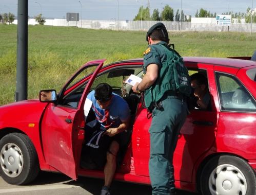 El estrés es uno de los principales riesgos laborales de los guardias civiles.