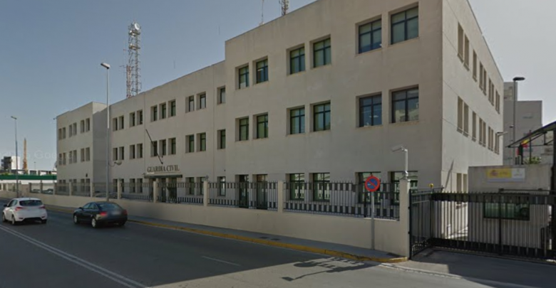 Comandancia de la Guardia Civil de Cádiz, en cuya sede tendrá lugar la asamblea de AUGC.