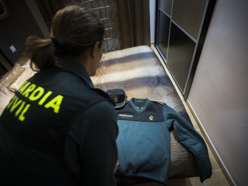 Menos de un 7% de los agentes de la Guardia Civil son mujeres. Foto: El Español