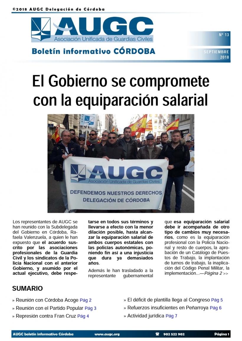 Boletín de AUGC Córdoba nº 13