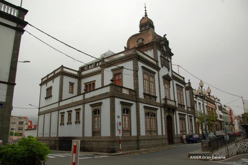 Edificio de la Heredad de Aguas de Arucas y Firgas, donde tendrá lugar la asamblea de AUGC Las Palmas.