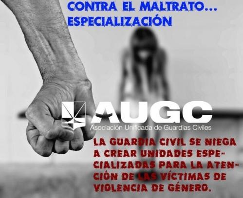 AUGC reclama la especialización de las unidades Viogen.