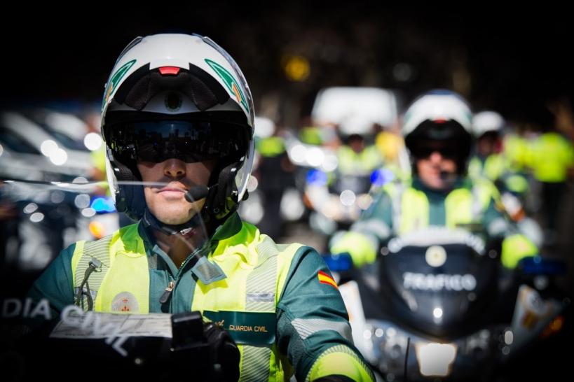 Desde hace una década viene produciéndose un descenso del número de guardias civiles de Tráfico.