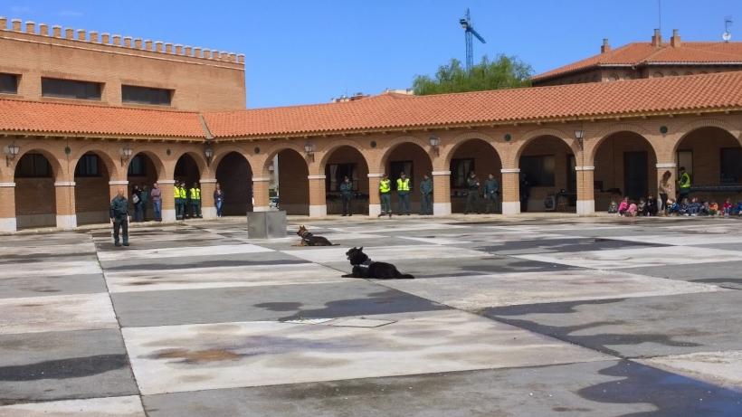 Comandancia de Teruel, en cuyo salón de actos tendrá lugar la Asamblea de AUGC.