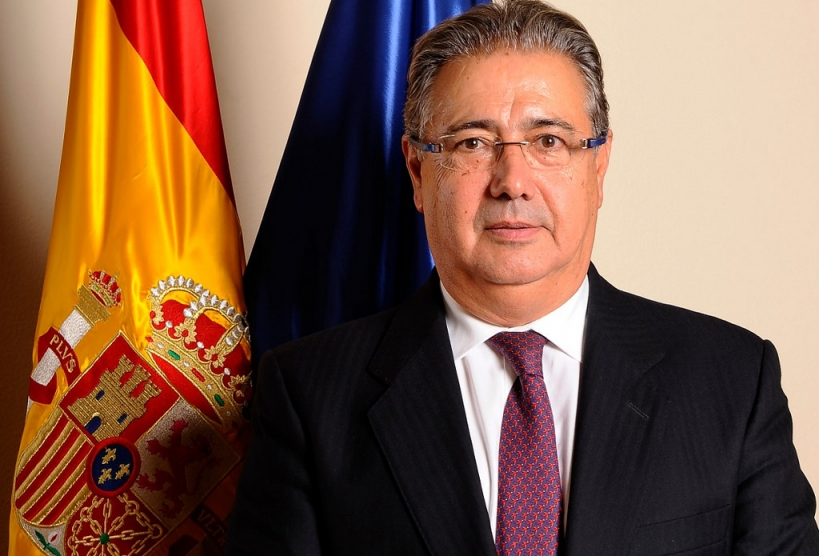 Juan Ignacio Zoido, en su época al frente de Interior