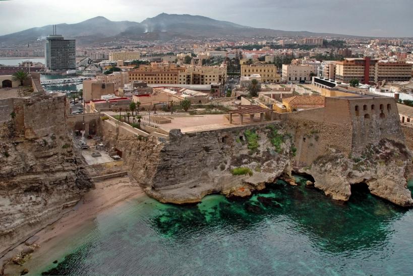 Vista panorámica de Melilla