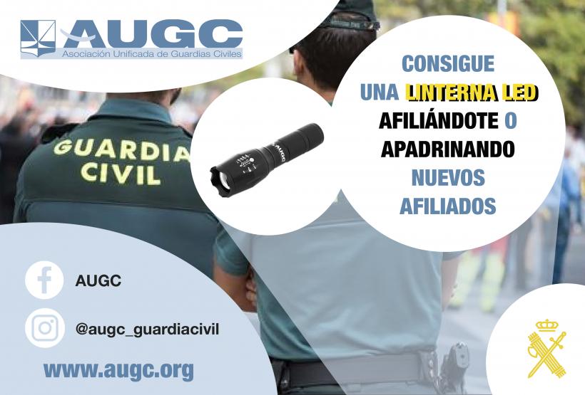 Únete a la gran familia de AUGC, y si ya eres afiliado, 'apadrina' a un nuevo compañero y llévate nuestro regalo promocional.