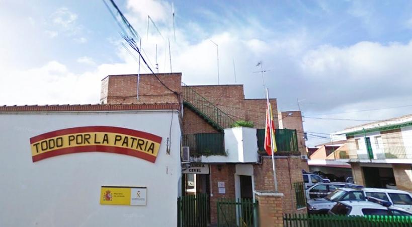 Cuartel de la Guardia Civil en Peñarroya-Pueblonuevo (Córdoba)