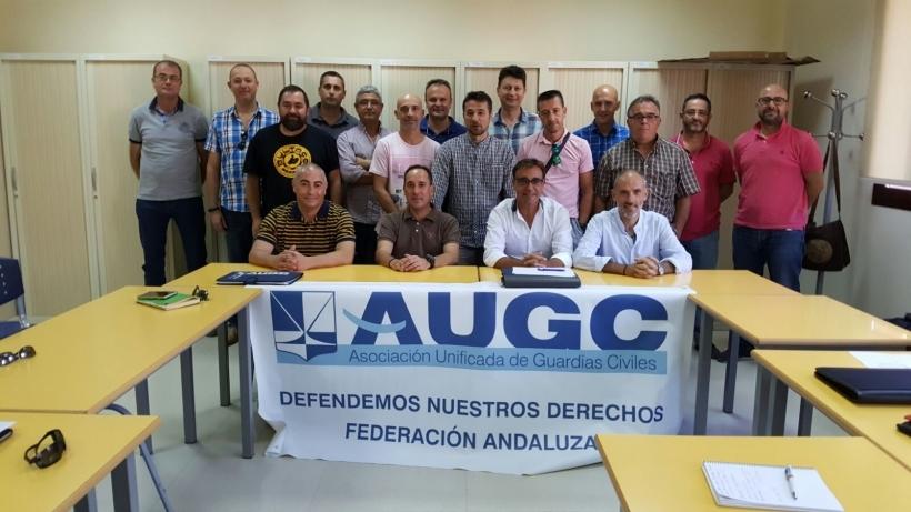 Junta Directiva de la Federación de AUGC de Andalucía.