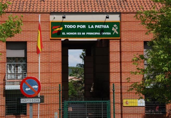 Cuartel de la Guardia Civil de Cogolludo (Guadalajara).