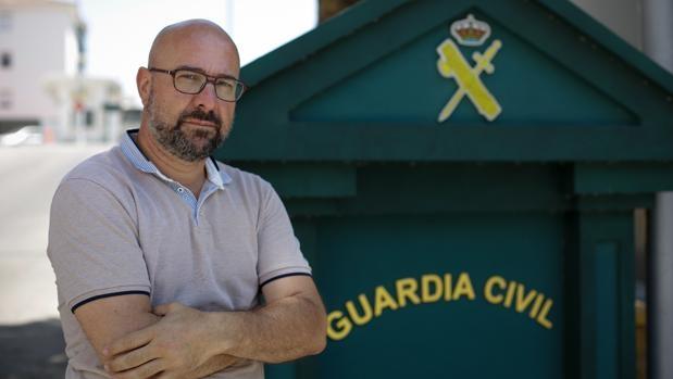 José Encinas, secretario general provincial de AUGC Cádiz.