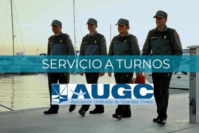 AUGC lleva años trabajando para que de una vez por todas se implanten los turnos de trabajo en la Guardia Civil.