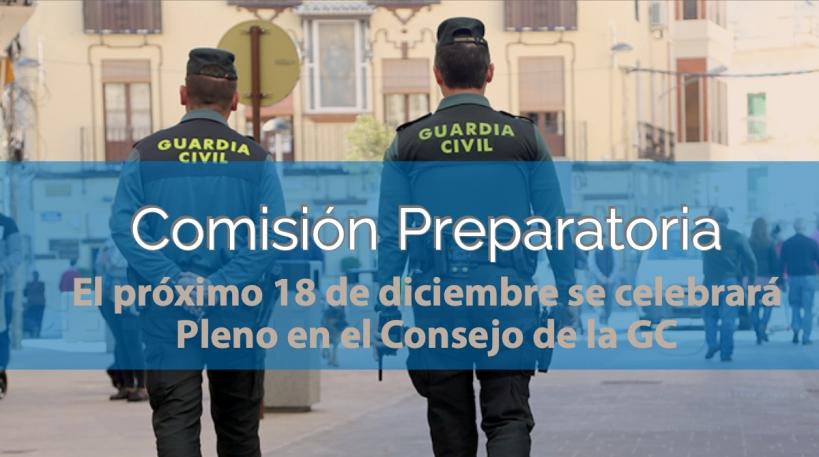 Celebrada Comisión Preparatoria para el último Pleno del Consejo del 2018