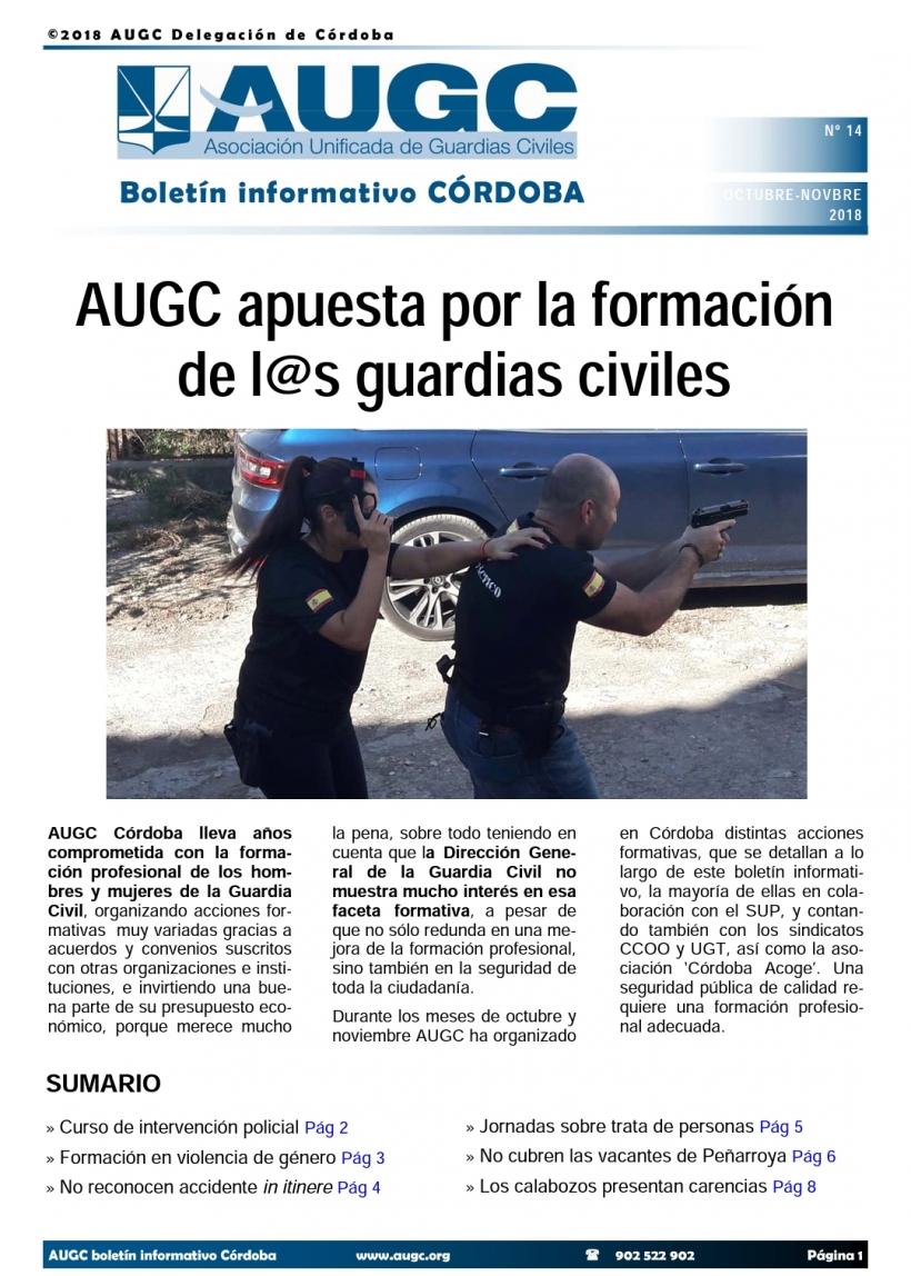 Boletín de AUGC Córdoba nº 14