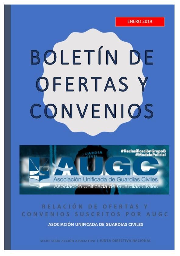 Boletín de ofertas y convenios para afiliados 2019