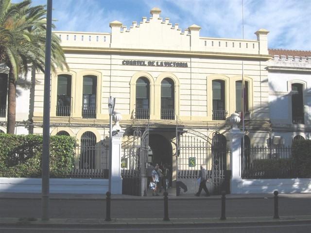 Sede de la Comandancia de la Guardia Civil en Córdoba.