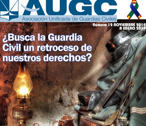 Aspecto de la portada del número 12 de 'La Revista de AUGC'