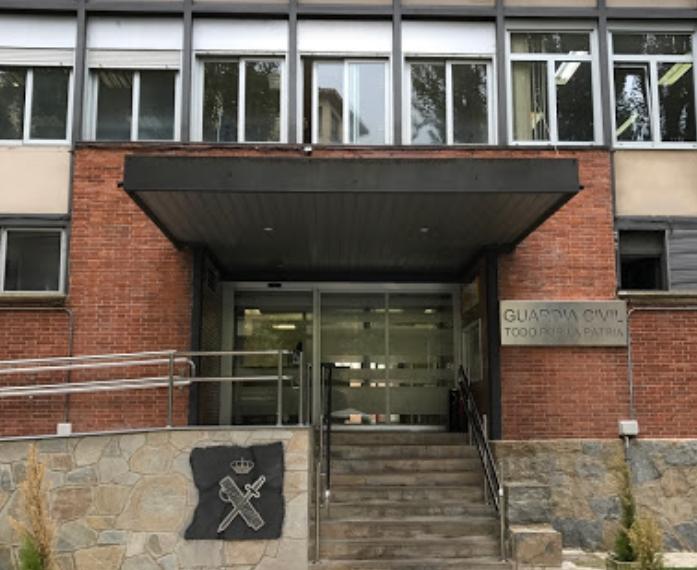 Sede de la Comandancia de Navarra, en cuyo salón de actos tendrá lugar la asamblea de AUGC.