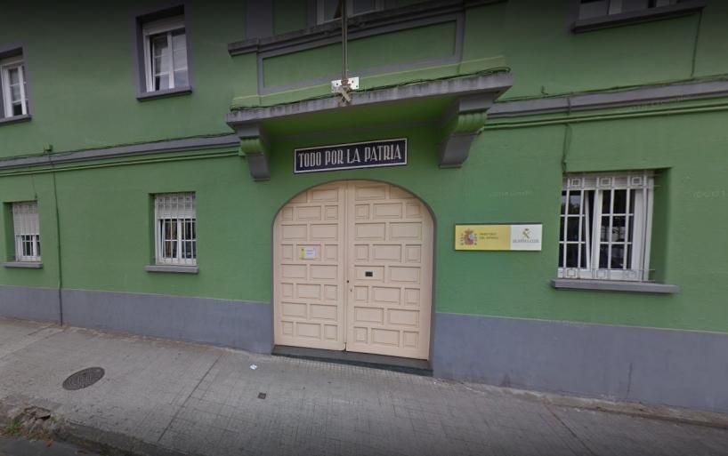 Comandancia de Lugo, en cuyo salón de actos tendrá lugar la asamblea de AUGC.