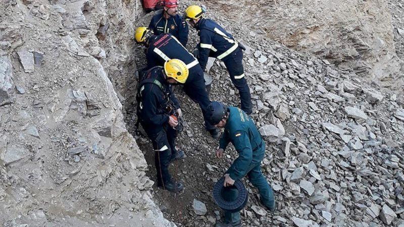 Varios de los integrantes del equipo de rescate que trabajó incansablemente en el rescate de Julen. Foto: Bomberos de Málaga.