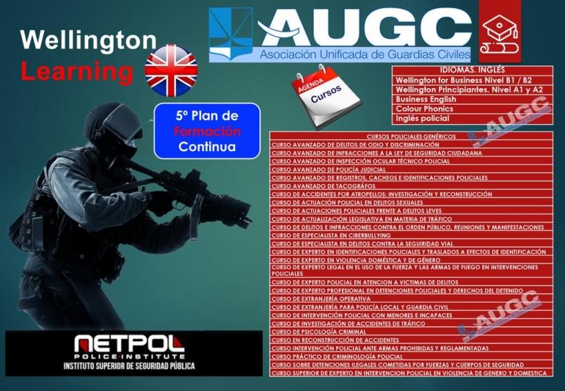 Quinto Plan de Formación Continua de AUGC