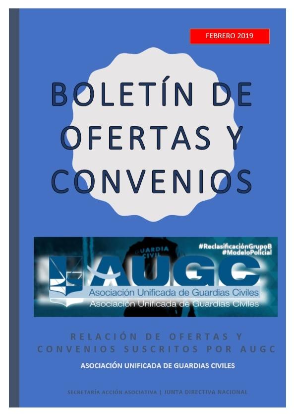 Boletín de ofertas y convenios para afiliados febrero