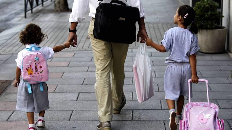 Muchos guardias civiles retirados son personas jóvenes con hijos pequeños.