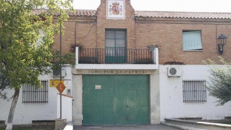 Cuartel de la Guardia Civil de Láchar (Granada), donde han sucedido los hechos.