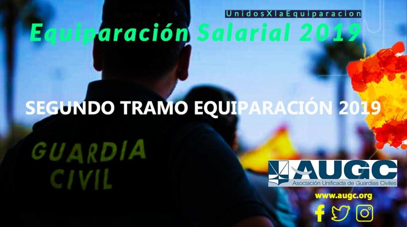 El proceso de equiparación salarial para 2019 pronto será una realidad para los guardias civiles y policías nacionales.