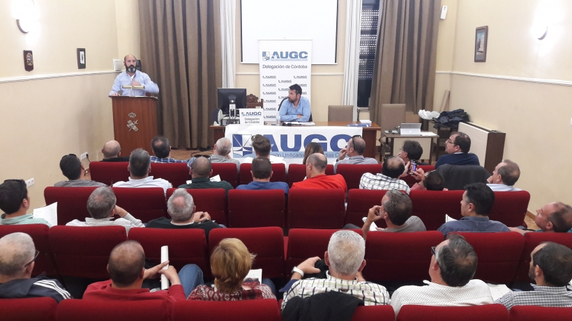 Asamblea de AUGC en Córdoba