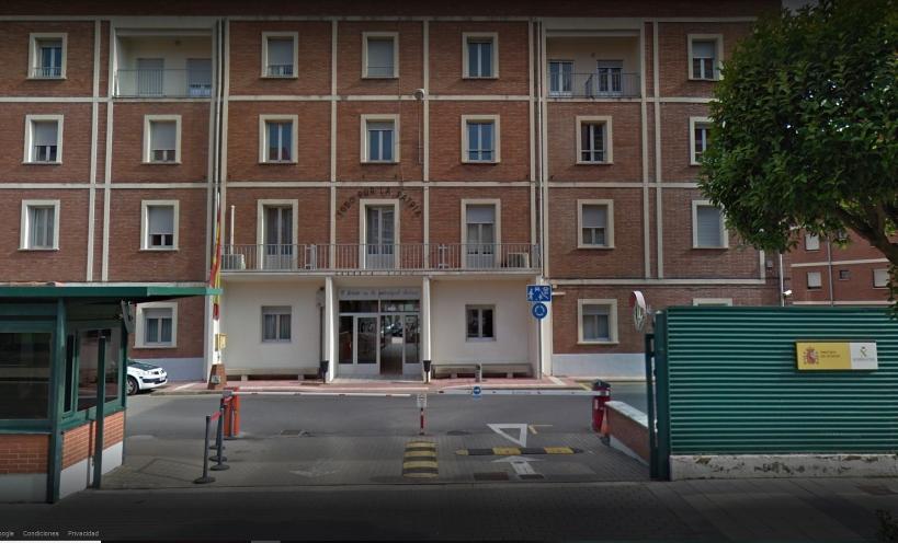 Comandancia de la Guardia Civil de León, en cuyo salón de actos tendrá lugar la asamblea de AUGC.