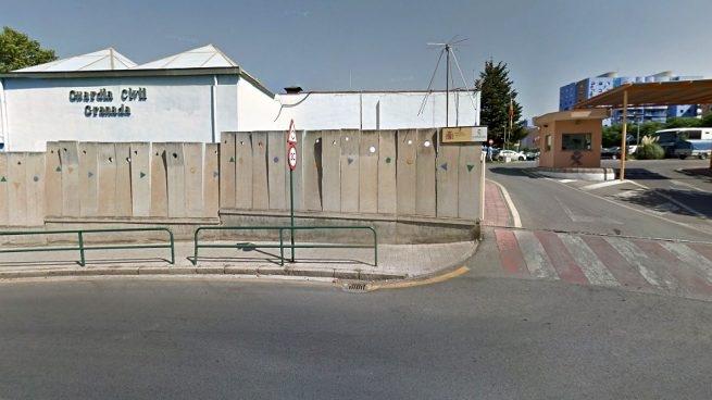 Comandancia de la Guardia Civil de Granada, en cuyo salón de actos se celebrará la asamblea de AUGC.