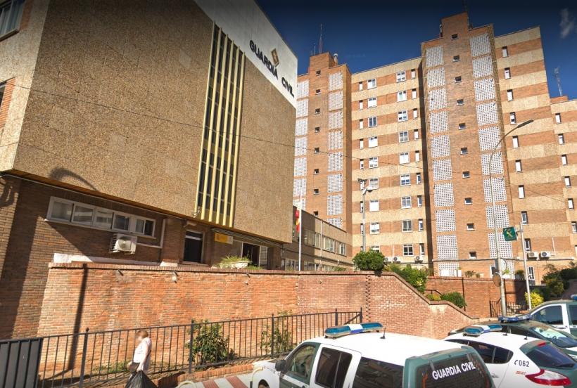 Comandancia de la Guardia Civil de Guadalajara, en cuya biblioteca tendrá lugar la asamblea de AUGC.