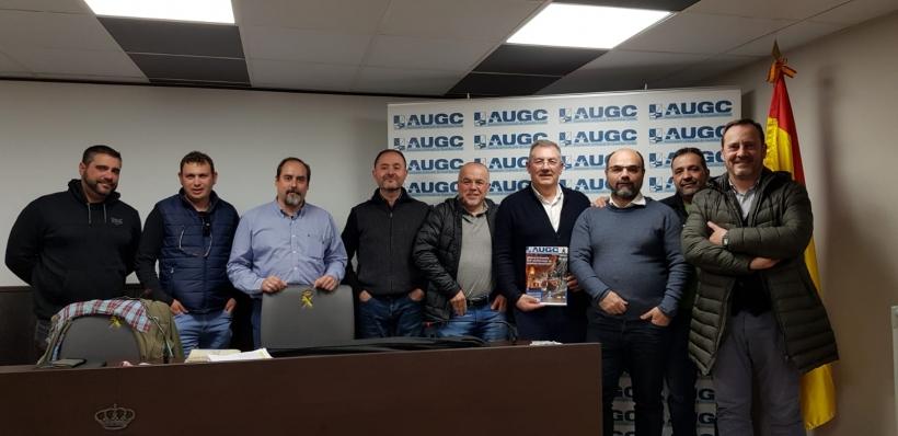 Miembros de la Junta Directiva Provincial de AUGC Navarra.