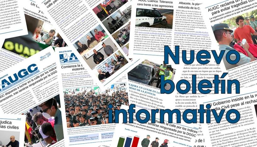 Descárgate el boletín informativo de AUGC Navarra.