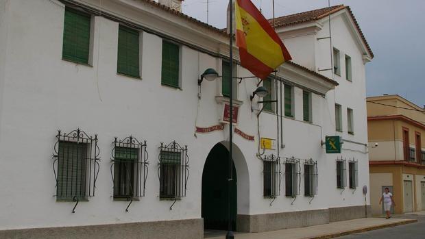 Cuartel de la Guardia Civil en Palma del Río