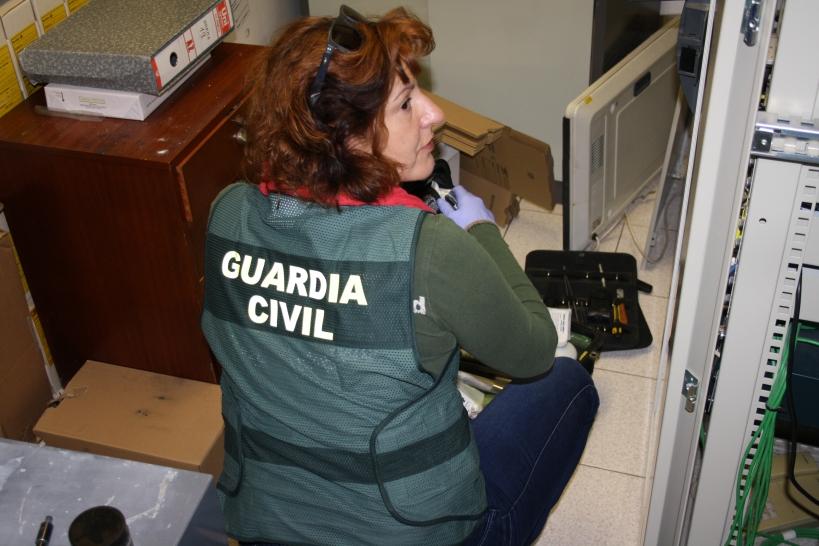 Las mujeres siguen siendo minoritarias en la Guardia Civil.