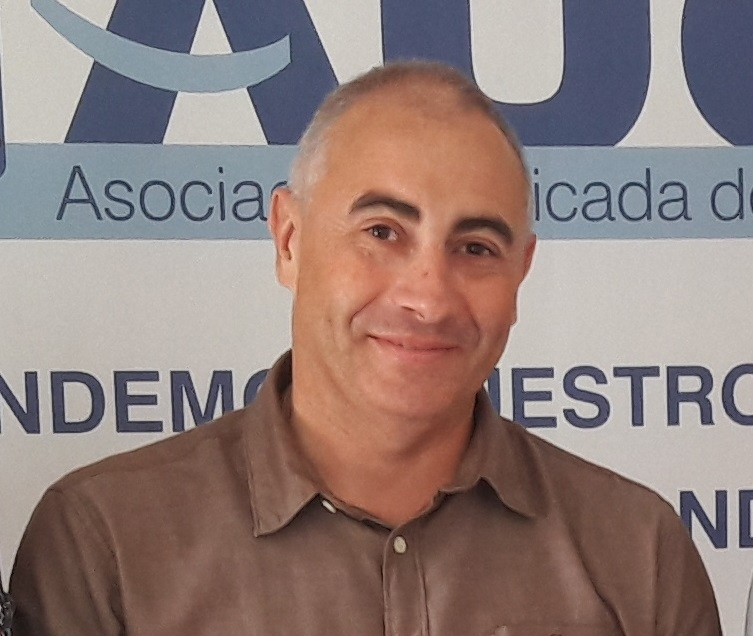 Fran Cruz, secretario de relaciones institucionales y formación de AUGC en Córdoba
