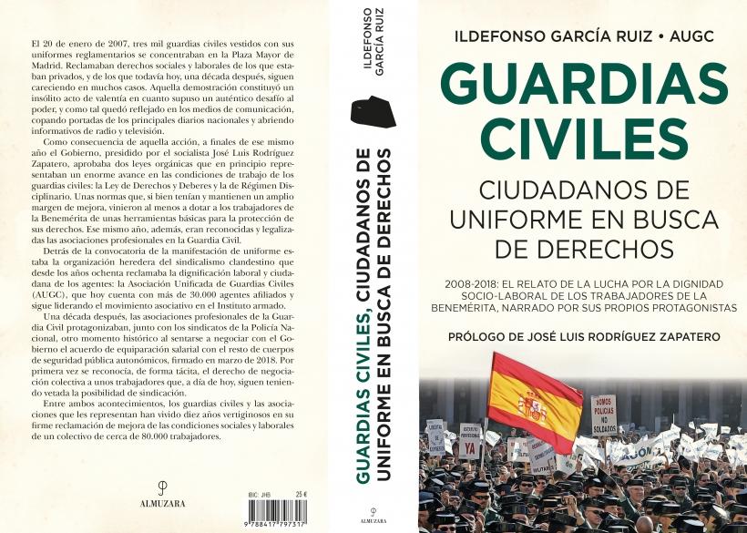 Cubierta de 'Guardias Civiles, ciudadanos uniformados en busca de derechos'.