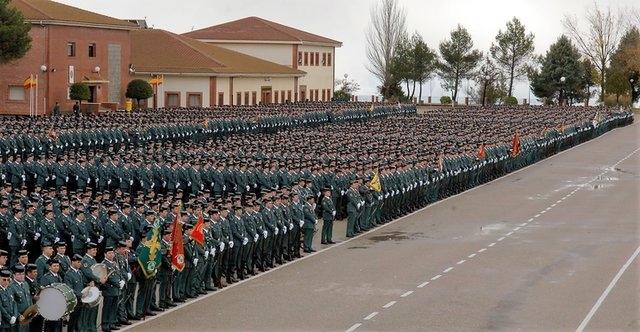 Academia de la Guardia Civil en Baeza (Jaén).