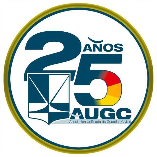 Logo diseñado especialmente para conmemorar el 25 aniversario de AUGC.