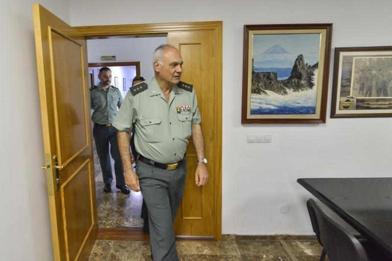 El Coronel Jefe de la Guardia Civil en Canarias hasta el pasado mes de abril, Ricardo Arranz. Foto: José Pérez Curbelo.