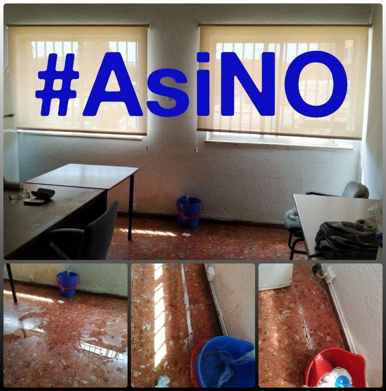 En estas condiciones han de prestar servicio los agentes en el Centro Penitenciario de Foncalent (Alicante).
