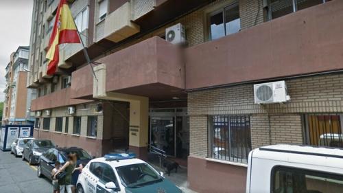 Fachada de la Comandancia de la Guardia Civil de Huelva. Foto: H. Información.