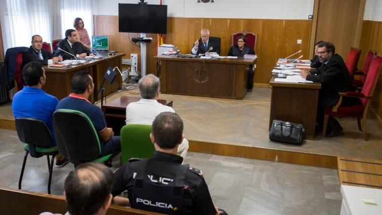 Un instante de la celebración del juicio que ha tenido lugar hoy.